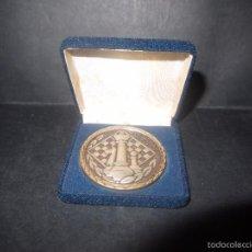 Trofeos y medallas: PRECIOSA MEDALLA DE AJEDREZ EN BRONCE,CEBRIAN, FUNDACION MUNICIPAL DE JUVENTUD Y DEPORTE CADIZ 1985. Lote 60814567