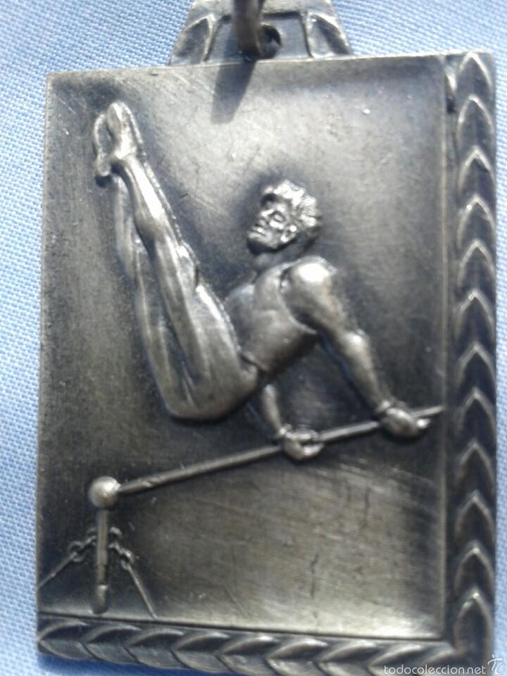 ANTIGUA MEDALLA DEPORTIVA (Numismática - Medallería - Trofeos y Conmemorativas)
