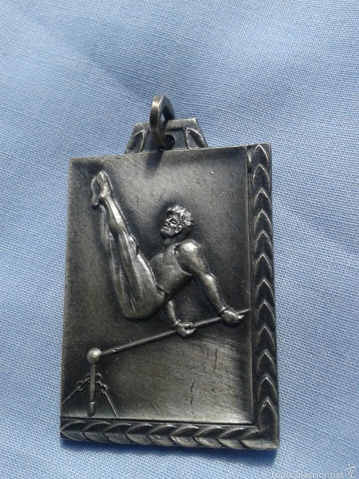 Trofeos y medallas: ANTIGUA MEDALLA DEPORTIVA - Foto 2 - 61986752