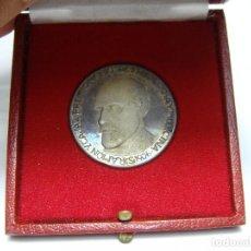 Trofeos y medallas: MEDALLA DE PLATA. RAMÓN Y CAJAL. PREMIO NOBEL DE FISIOLOGIA Y MEDICINA. 1906. INCLUYE ESTUCHE.. Lote 62377348
