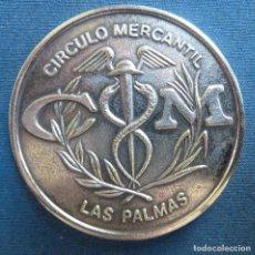 Trofeos y medallas: CÍRCULO MERCANTIL. LAS PALMAS. PRIMER CENTENARIO (1879. 1979). Lote 62516648