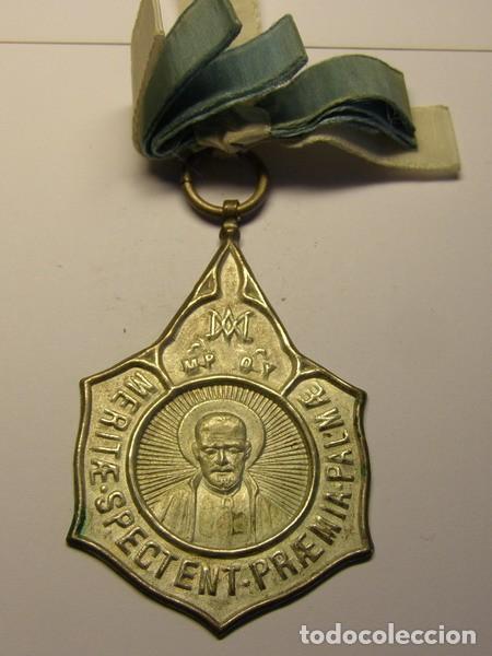 MEDALLA ANTIGUA ESCOLAR. (Numismática - Medallería - Trofeos y Conmemorativas)