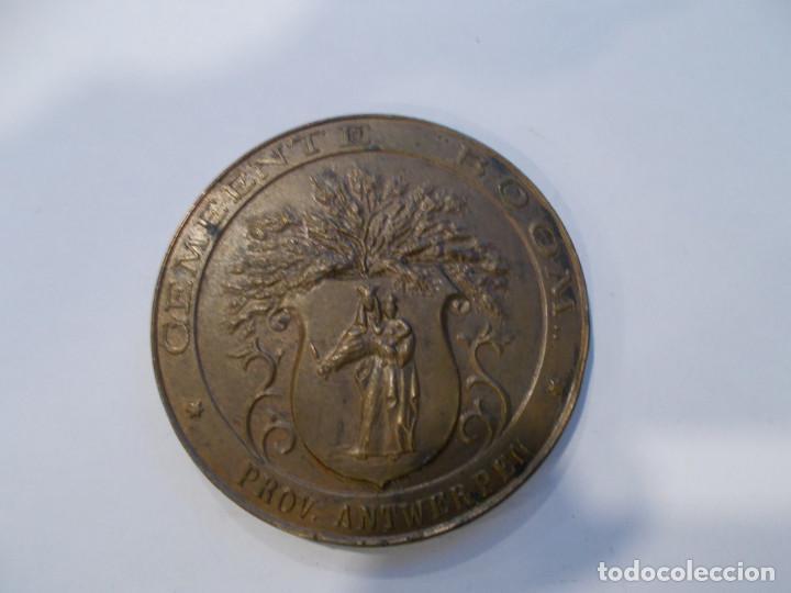MEDALLA ESCUDO BRONCE (Numismática - Medallería - Trofeos y Conmemorativas)
