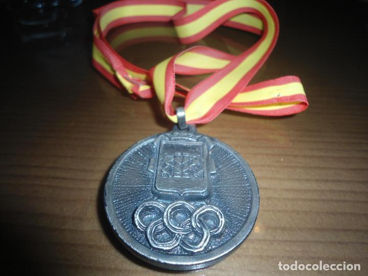 ANTIGUA MEDALLA V SEMANA DEPORTIVA PACENSE - BADAJOZ - 1981 (Numismática - Medallería - Trofeos y Conmemorativas)
