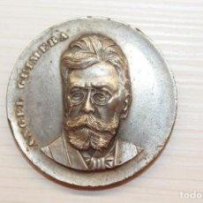 Trofeos y medallas: MEDALLA ÀNGEL GUIMERÀ, 1968, 5 CM DE DIÁMETRO. Lote 67436913