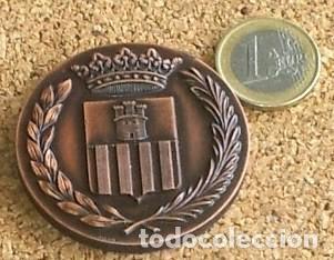 Trofeos y medallas: Medalla VILANOVA I LA GELTRU CENTENARIO LLEGADA TREN 1881-1981 - Foto 2 - 67778661