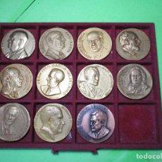 Trofeos y medallas: MEDALLAS CALICO A ESCOGER REYES DE ESPAÑA, CONDES DE BARCELONA, MÚSICOS, PAPAS, PERSONAJES.. Lote 68813397