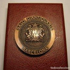 Trofeos y medallas: MEDALLA GREMI D'ANTIQUARIS DE BARCELONA, AÑO 1998. ACUÑADA POR PUJOL. ARC DE BERÀ.. Lote 71129761
