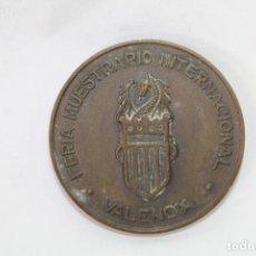Trofeos y medallas: MONEDA MEDALLA CONMEMORATIVA DE LA FERIA MUESTRARIO INTERNACIONAL VALENCIA. Lote 71433399