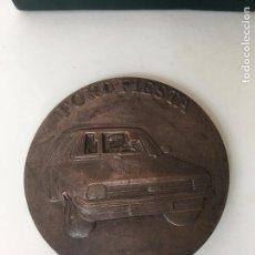 Trofeos y medallas: MEDALLA FORD FIESTA 1976 ALMUSAFES VALENCIA ESPAÑA. Lote 71653539