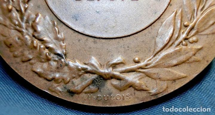 Trofeos y medallas: ANTIGUA Y RARA MEDALLA BRONCE - FIRMADA H. DUBOIS - ORQUESTA DE ÁNGELES - GRABADA POR J. LAGRANGE - Foto 5 - 71679523