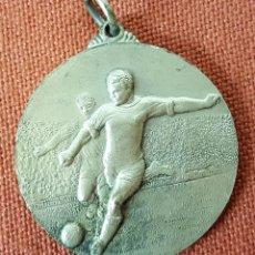 Trofeos y medallas: M-437. MEDALLA INAGURACION DEL ESTADIO MUNICIPAL DE BANYOLAS. 1968. . Lote 72232467