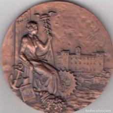 Trofeos y medallas: MEDALLA: 1970 VALENCIA. CINCUENTENARIO BANCO BILBAO. Lote 73407435