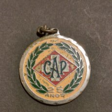 Trofeos y medallas: MEDALLA CAP 25 AÑOS SAN CRISTÓBAL. Lote 74758214