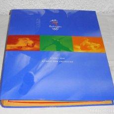 Trofeos y medallas: COLECCIÓN COMPLETA DE 28 MEDALLAS O MONEDAS. JUEGOS OLÍMPICOS DE SIDNEY. 2000. INCLUYE ÁLBUM.. Lote 75252383