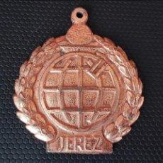 Trofeos y medallas: MEDALLA CAJA DE AHORROS DE JEREZ. Lote 75422591