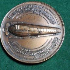 Trofeos y medallas: MEDALLA CONMEMORATIVA ALEMANA 75 AÑOS DE LA AVIACION 1910 - 1985 - ZEPPELIN - VER FOTOS . Lote 75491903