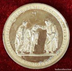 Trofeos y medallas: MEDALLA EN BRONCE DORADO. SACERDOTIO AUCTUS. CIRCA 1950. . Lote 75690431