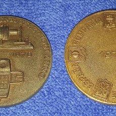 Trofeos y medallas: COMPAÑÍA TELEFÓNICA NACIONAL DE ESPAÑA - CENTESIMO INVENTI TELEPHONI ANNO 1876 - 1976. Lote 76632871