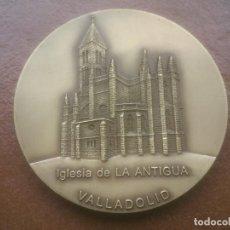 Trofeos y medallas: IGLESIA DE LA ANTIGUA VALLADOLID MEDALLA LOTERIA DEL HUMOR. Lote 78479065
