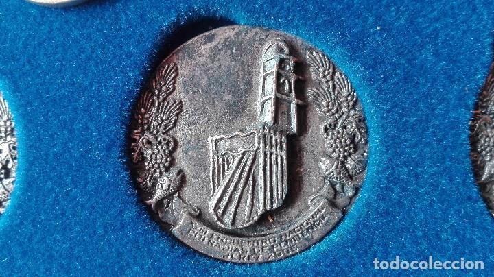 Trofeos y medallas: 8 medallas conmemorativas Diocesis Asidonia Jerez 1980 2005 - Foto 10 - 78938257