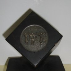 Trofeos y medallas: TROFEO TEMA SARDANA CIRVIANS TROBADA VETERANS TORELLO 1981. Lote 79090725