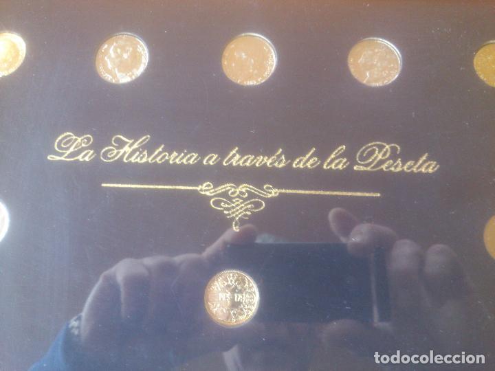 Trofeos y medallas: COLECCION MONEDAS HISTORIA A TRAVES DE LA PESETA LIMITADA YNUMERADAS - Foto 2 - 79615893