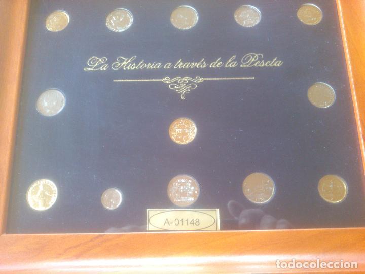 Trofeos y medallas: COLECCION MONEDAS HISTORIA A TRAVES DE LA PESETA LIMITADA YNUMERADAS - Foto 5 - 79615893