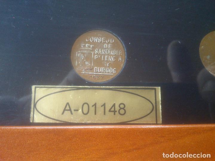 Trofeos y medallas: COLECCION MONEDAS HISTORIA A TRAVES DE LA PESETA LIMITADA YNUMERADAS - Foto 6 - 79615893