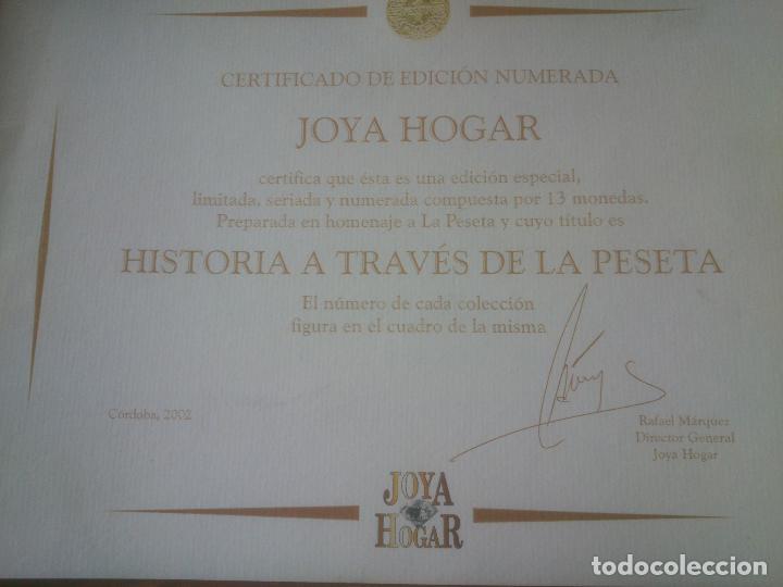 Trofeos y medallas: COLECCION MONEDAS HISTORIA A TRAVES DE LA PESETA LIMITADA YNUMERADAS - Foto 8 - 79615893