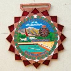Trofeos y medallas: MEDALLA ESMALTADA TENERIFE 1981 NATACION. Lote 80188125