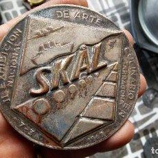 Trofeos y medallas: MEDALLA SKAL 1963. Lote 209570343