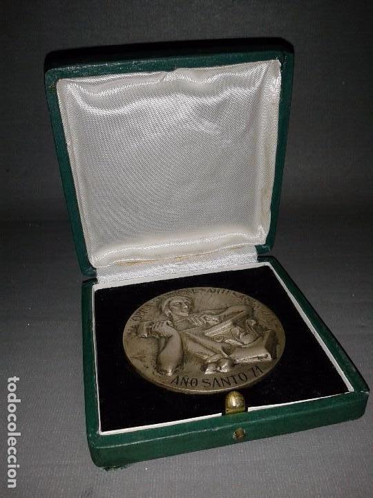 918- MONEDA CONMEMORATIVA DEL AÑO SANTO AÑO 1971 DE LA FALANGE ESPAÑOLA ( 6,5CMS) (Numismática - Medallería - Trofeos y Conmemorativas)