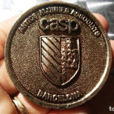 Trofeos y medallas: MEDALLA CASP BARCELONA. Lote 83002336
