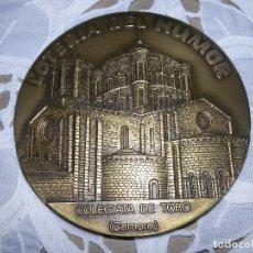 Trofeos y medallas: MEDALLA BRONCE. LOTERÍA DEL HUMOR.COLEGIATA DE TORO DE ZAMORA.1992. Lote 86479724