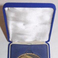 Trofeos y medallas: MEDALLA EN BRONCE - I CONCURS TEATRE AMATEUR PATRICI CLARA CALONGE 2003 - FIRMADA. Lote 87172740