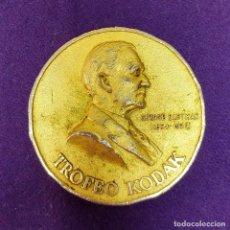 Trofeos y medallas: MEDALLA DEL TROFEO KODAC. ORIGINAL. CATEGORIA ORO. GEORGE EASTMAN 1854- 1932. . Lote 87784568