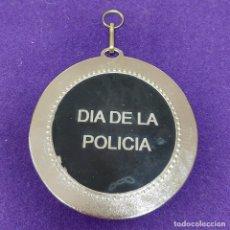 Trofeos y medallas: MEDALLA ORIGINAL DEL DIA DE LA POLICIA. 70MM DIAMETRO. PESO 58,50GR. CUERPOS Y FUERZAS DE SEGURIDAD. Lote 101545550