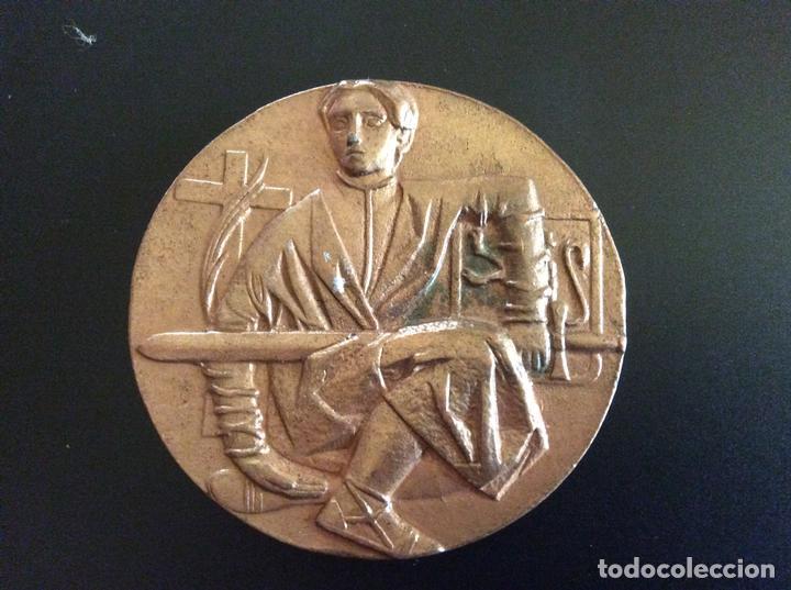 Trofeos y medallas: Medalla conmemorativa Zaragoza 5,5 cm de diámetro. - Foto 2 - 88988500