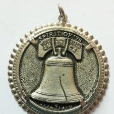 Trofeos y medallas: MEDALLÓN, MEDALLA DEL BICENTENARIO DE LA CAMPANA DE LA LIBERTAD 1776- 1976 LIBERTY BELL. Lote 89284738