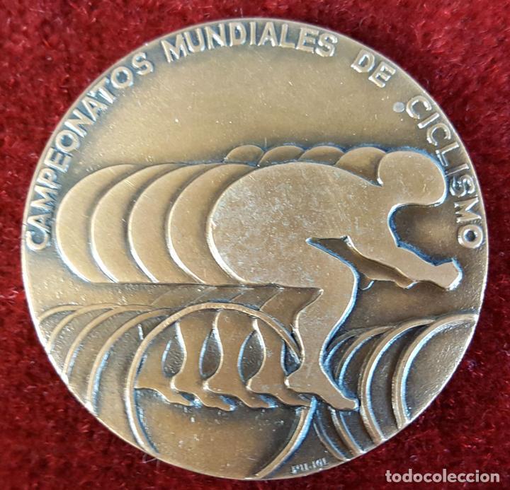 MEDALLA DE BRONCE. CAMPEONATOS MUNDIALES DE CICLISMO. PUJOL.1973. (Coins - Medals - Trophies and Commemorative)