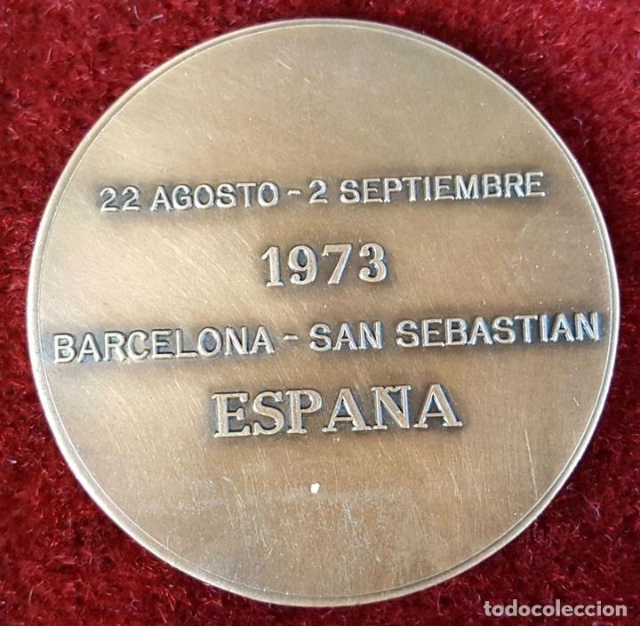 Trophies and Medals: MEDALLA DE BRONCE. CAMPEONATOS MUNDIALES DE CICLISMO. PUJOL.1973. - Foto 2 - 150944085