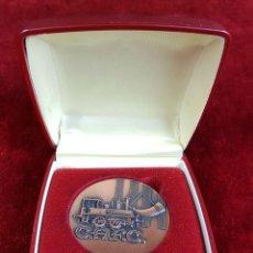 Trofeos y medallas: MEDALLA DE BRONCE. CAFC. FERROCARRILES. SIGLO XX. . Lote 92098745