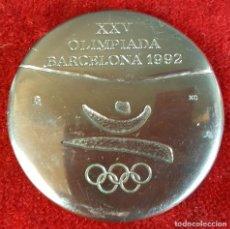 Trofeos y medallas: MEDALLA CONMEMORATIVA PARA LOS VOLUNTARIOS DE LAS XXV OLIMPIADAS DE BARCELONA 1992.. Lote 111025162