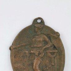 Trofeos y medallas: ANTIGUA MEDALLA - MEDALLA ESCOLAR IV ANIVERSARI PROCLAMACIÓ REPÚBLICA, 1935. Lote 94385662