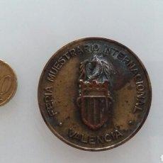 Trofeos y medallas: MEDALLA DEL LXV ANIVERSARIO DE LA FERIA MUESTRARIO INTERNACIONAL DE VALENCIA. 1982.. Lote 94885204
