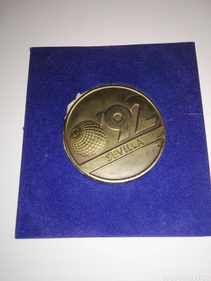 Trofeos y medallas: Moneda conmemorativa EXPO 92/Cartuja - Foto 3 - 95059743