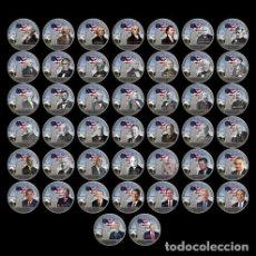 Trofeos y medallas: LOTE DE 44 MONEDAS CONMEMORATIVAS 45º PRESIDENTES ESTADOS UNIDOS - PLATA - LEER DESCRIPCION. Lote 95363007
