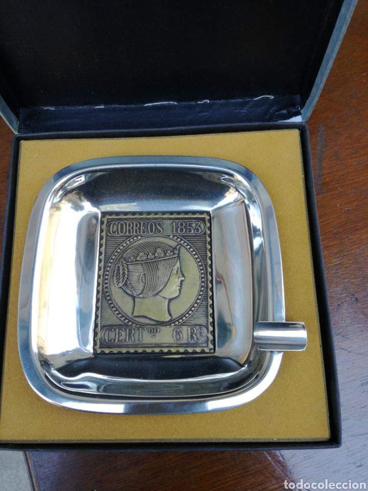 CENICERO CONMEMORARTIVO (Numismática - Medallería - Trofeos y Conmemorativas)