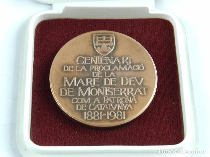 Trofeos y medallas: MEDALLA DEL CENTENARI DE LA PROCLAMACIO DE LA MARE DE DEV DE MONTSERRAT COM A PATRONA DE CATALUNYA, - Foto 2 - 96573759